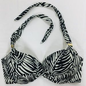 Victoria's Secret Zebra Print Bikini Top